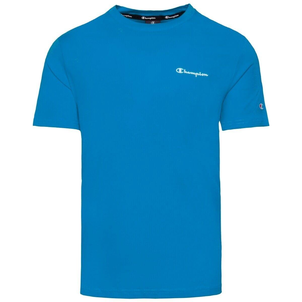 Champion Herren Crewneck T-Shirt 214153 hellblau