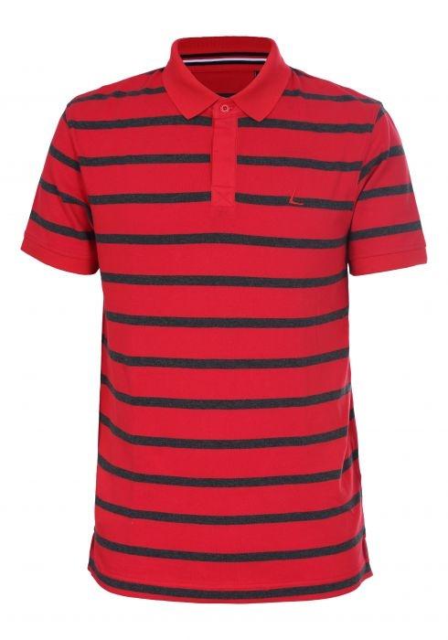 Lutha Hr. Polo Shirt Freeti 333598 rot