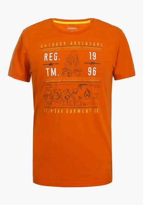 Icepeak Herren T-Shirt BARTLETT 57757 orange