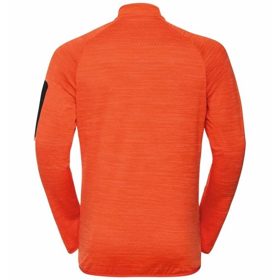 Odlo Hr. STEAM Midlayer Powerstretch Jacke 541912 mandarin red