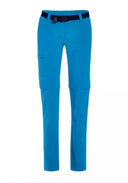 Maier Sports Damen Wanderhose Inara Slim Zip 233026 blue aster