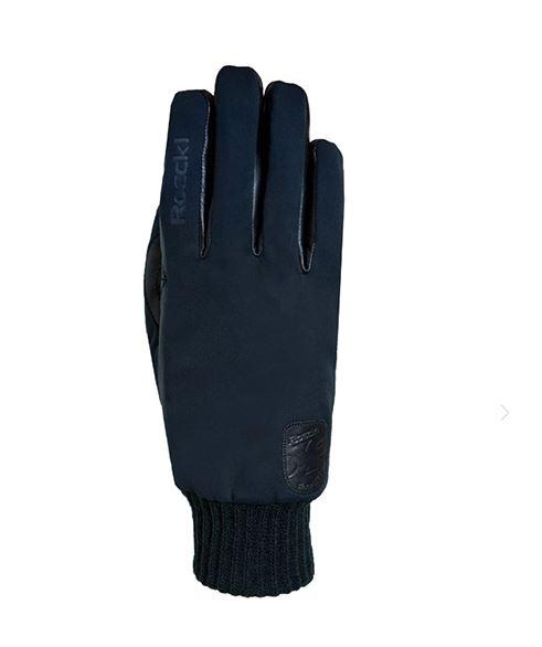 Roeckl Bike Handschuh Kiev 3602-080 schwarz Gr.8,5