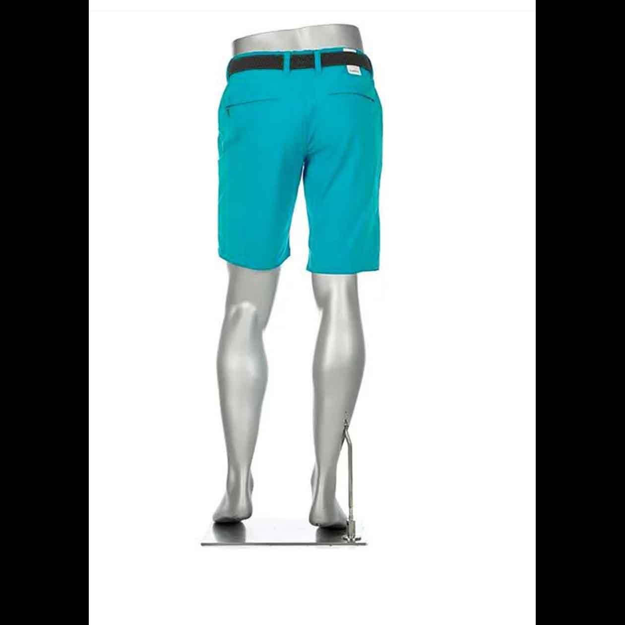ALBERTO Golf Herren Bermudashorts regular slim fit EARNIE türkis