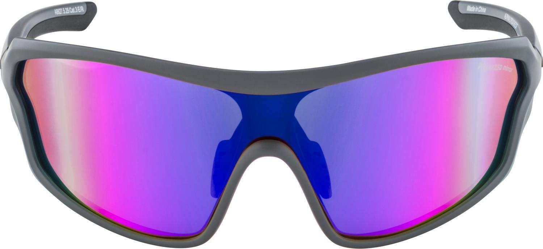 Alpina Sportbrille Lyron Shield P A8627 grey matt